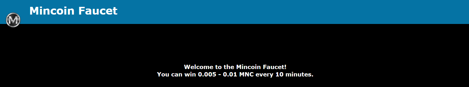 NEW MinCoin Faucet! Get FREE MinCoin Daily! - MinCoin Forums